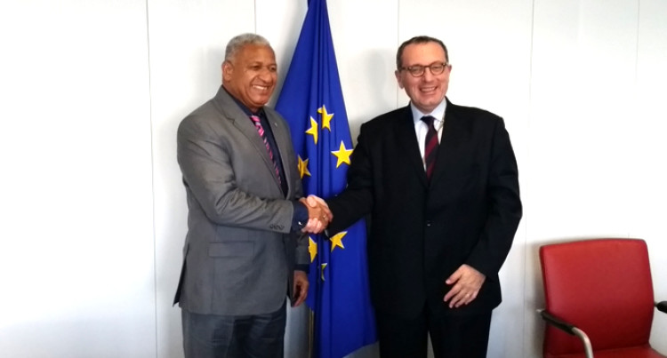 PM Meets Mimica In Brussels