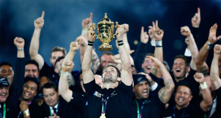 Back To Back Victory For All Blacks