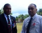Former British Army Joins Ceremony