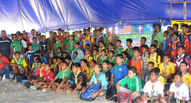 Green Scouts Launched In Lautoka