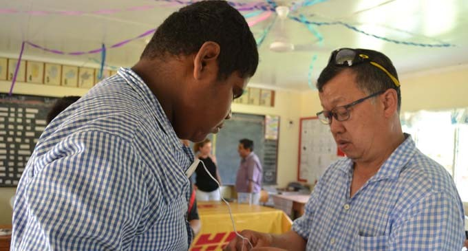 Carabez Alliance Gives Out Hearing Aids