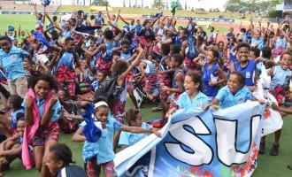 Close win for champs Suva