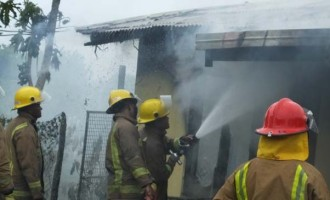 Rugby Star's Family Home Engulfs In Fire At Vatuwaqa Yesterday