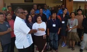 Fijians Help Thailand Village