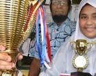 Shaazleen proud after receiving Dux Award for Urdu