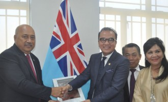 Ratu Inoke Welcome Indonesian Delegation