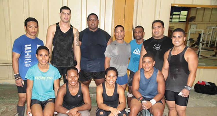 Fijian Lifters Prepared: Coffa