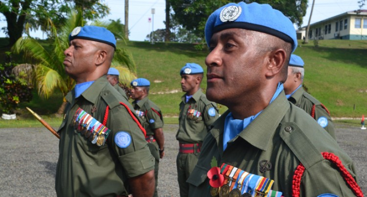 Troops Awarded Service Medals