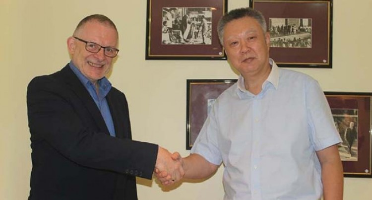Chinese Technical College Visits USP