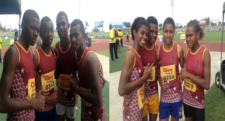Lautoka U13, U14  Scoop Relays