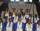International Line-Up At Graduation