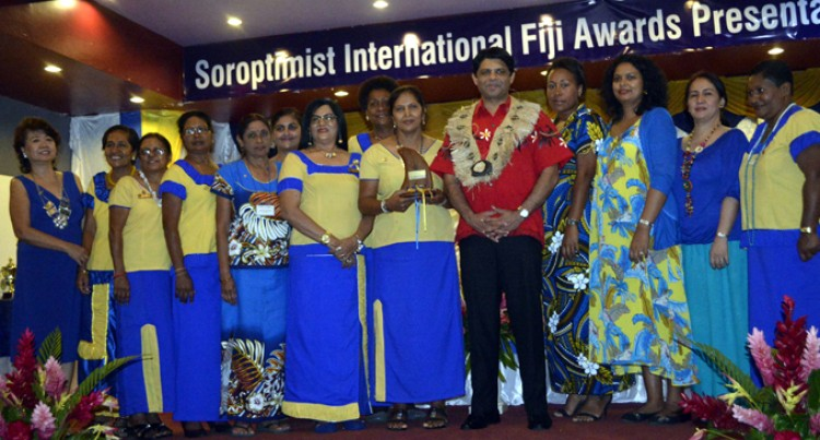 Ba Tops 2015 Soroptimist Awards
