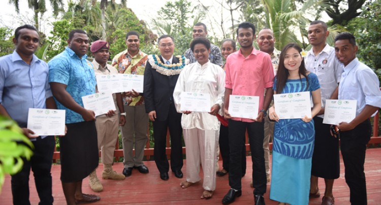 200 Fijians Pass Chinese Language Course