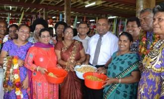 Labasa Market  Vendors  Celebrate Diwali