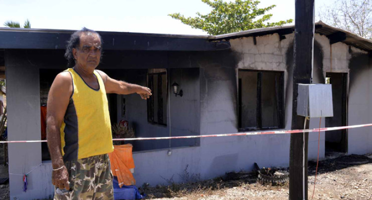 Wife, 18, In Custody Over Fire Probe