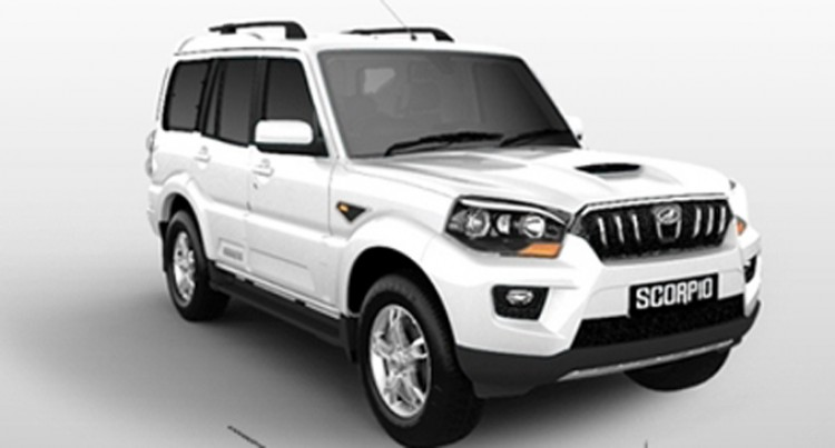 The Muscular Mahindra Scorpio