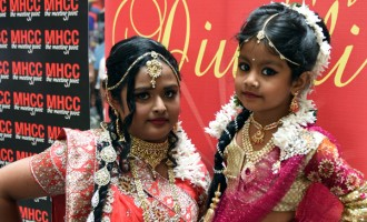 Cousins Star In MHCC Diwali Fashion Show