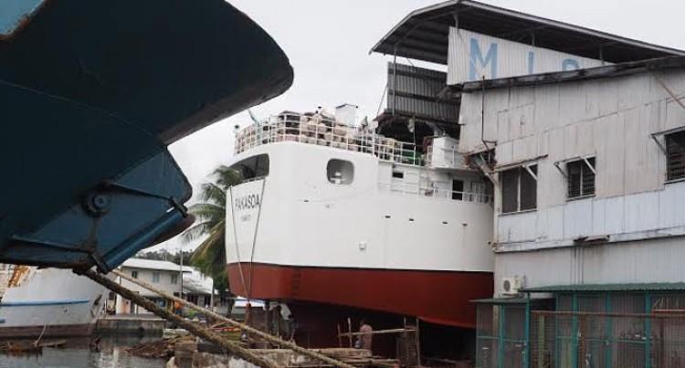 Vessels Target MISEL Slipway