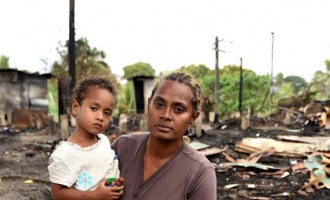 Family Survive Blaze, Lose Home, Everything
