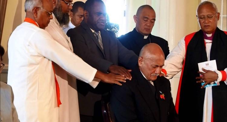 Swearing-In Of The New Fijian President