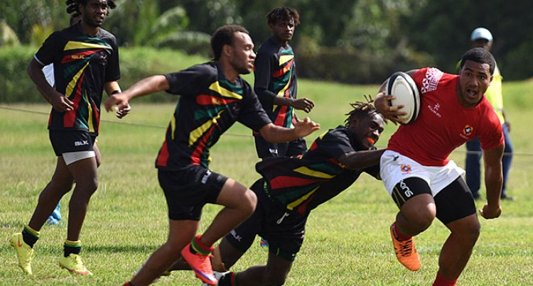 Tongans wallop  Vanuatu