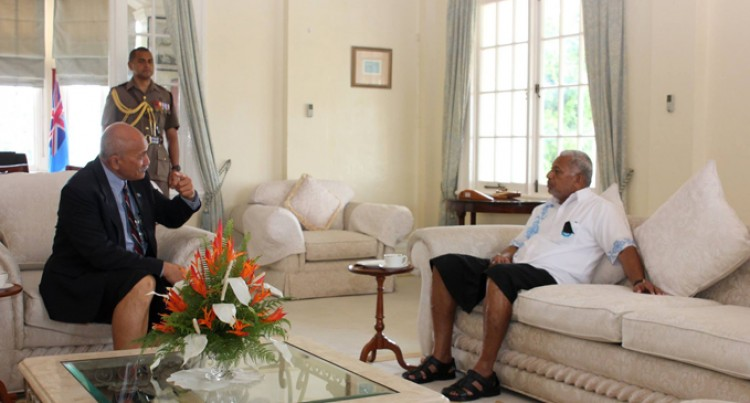 PM Pays Courtesy Call To President