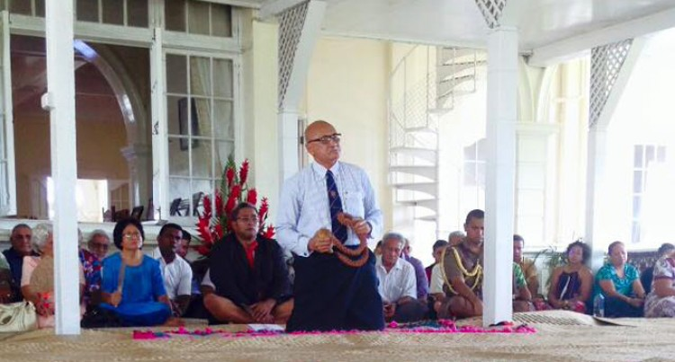 Bau Visits  President
