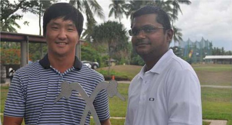 Lee Wins President's Cup