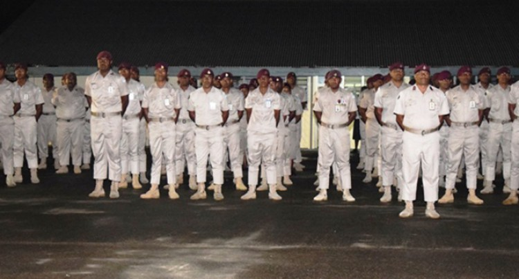 Drill Competition To Discipline Inmates