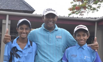 Young Golfers For World Juniors