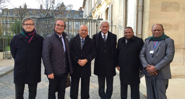 Fiji-France Relations Dominate High Level Talks In Paris
