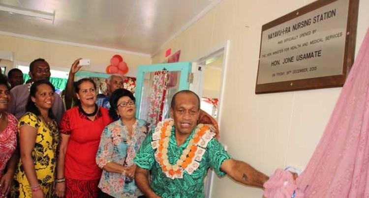 Nursing Station For Nayavu-i-Ra