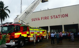 New Ladder Trucks, Timely Boost From Govt