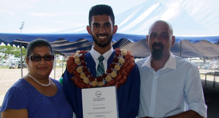 Son Thanks Dad For Success
