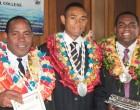 Trio Rejoice In Graduation