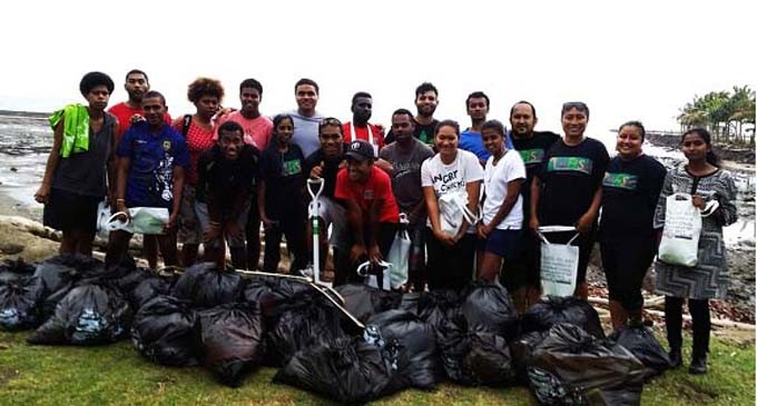USP Students Conduct Coastal Clean-Up