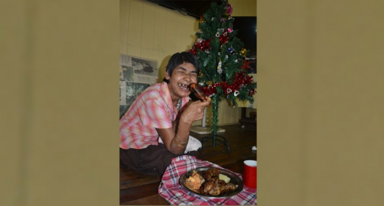 Christmas BBQ for Babasiga Ashram Residents
