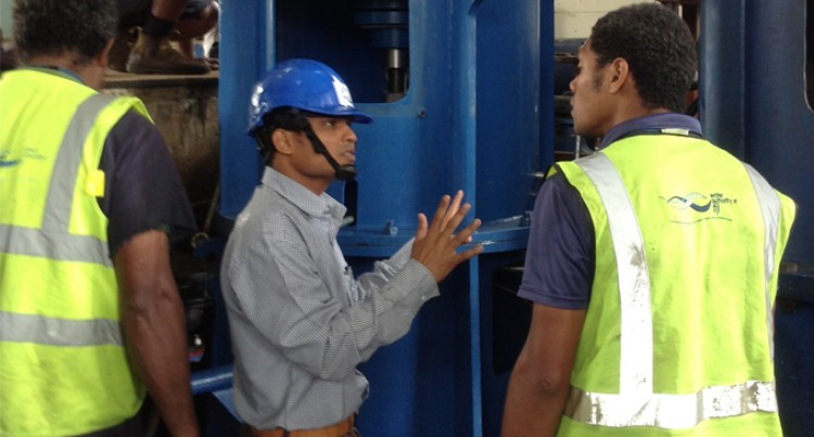 PUMPS TO IMPROVE SUVA WATER SUPPLY