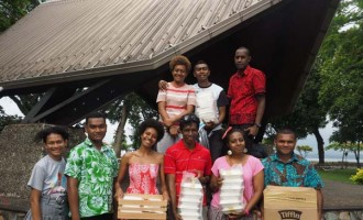 Youth Members Help Street People