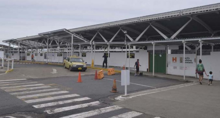 Works continue at Nadi Airport during the  holiday season