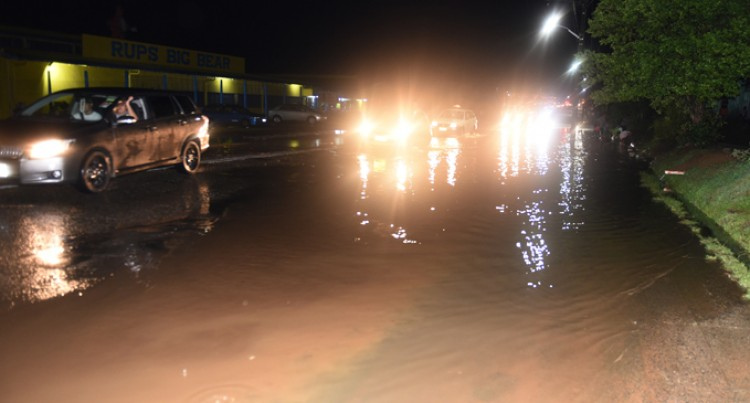 Heavy downpour hits Suva, Nasinu