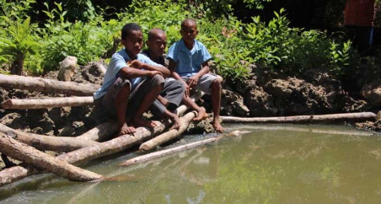 Old Borehole Sustains Cikobia Islanders