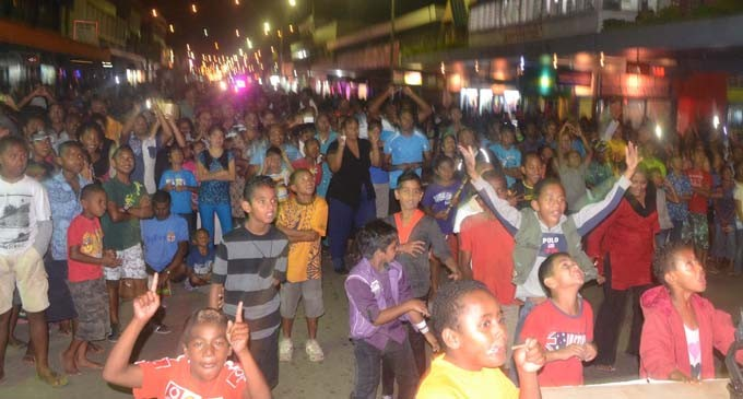 Let Labasa New Year  Street Party Begin