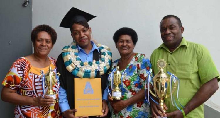 School Dropout Tops Graduates