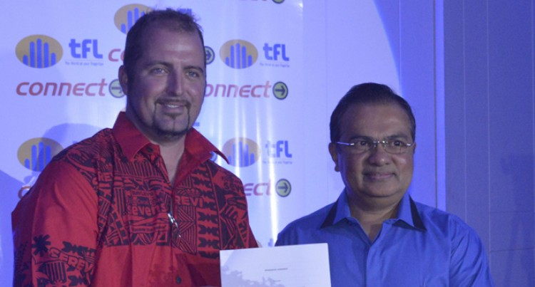 Telecom, FIJI Water Team Up