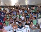 Volunteer Group Keeps Children Busy