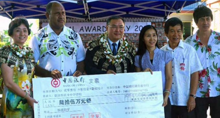 $650K For Lautoka Zhonghua School