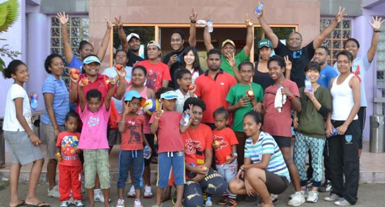 Many Join Last Westpac Walk This Year at Labasa