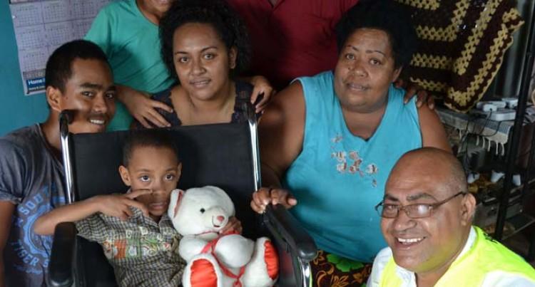 Marika Gets Wheelchair As Christmas Gift