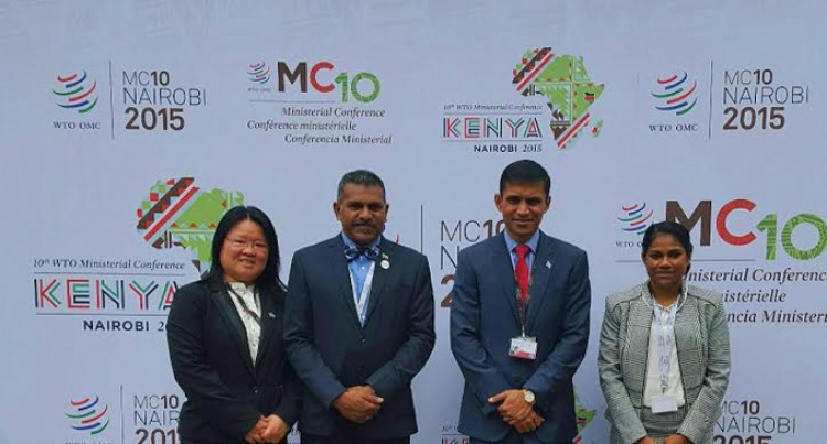 Fiji Highlights The Importance Of  Micro, Small And Medium  Enterprises At The 10th WTO Conference